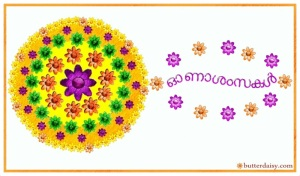 Onam Greeting Card Malayalam